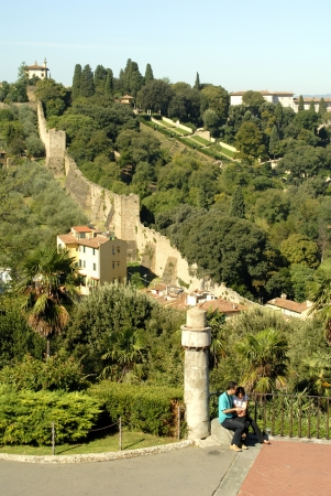 medici: City Walls of Florence Italy