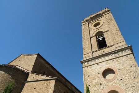Bell Tower of the Church of San Miniato al Monte in Florence Italy