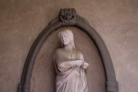 medici: Memorial to the Nurse Florence Nightingale who was born in the city of Florence in Tuscany Italy Editorial
