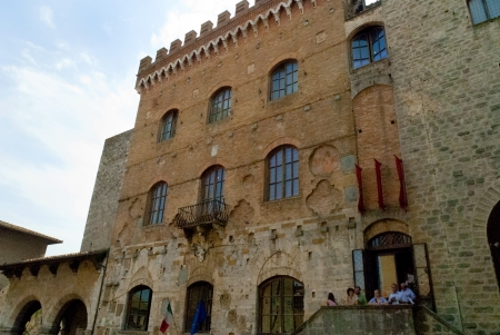 Ancient Buildings in San Gimignano Tuscany Italy