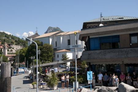 maderno: Maderno on Lake Garda in Northern Italy Editorial