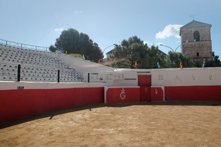 The Bullring at Mijas in Andalucia Spain