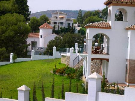 villa near Frigiliana one of the most beautiful