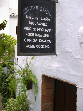 alpujarra: Frigiliana one of the most beautiful