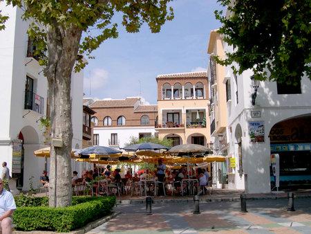balcon: Balcon de Europa in Nerja Andalucia Spain