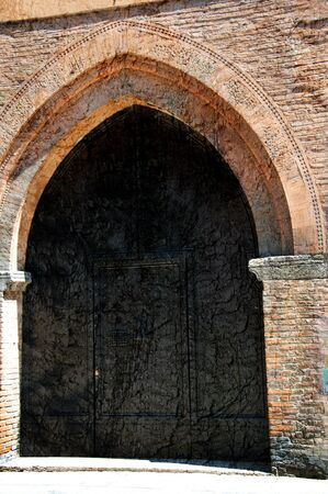 the po valley: Beautiful Medieval City of Bologna Italy. Bologna is the capital city of Emilia-Romagna, in the Po Valley of Northern Italy Editorial