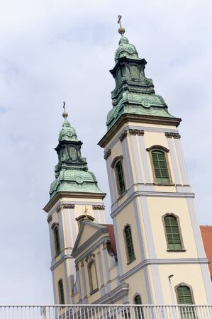 The oldest Church in Budapest Hungary