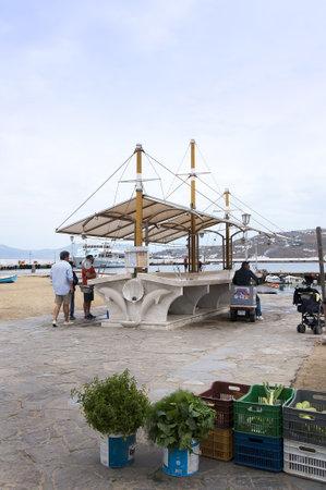 chora: Los lugares de inter�s en Chora la principal ciudad de la isla de Mykonos en Grecia