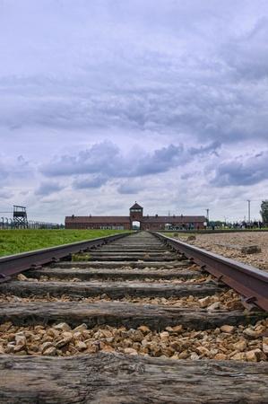 birkenau: Auschwitz Birkenau Death Camp in Poland