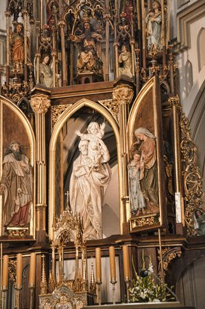 brenda kean: St Josephs Church in Krakow Poland Editorial