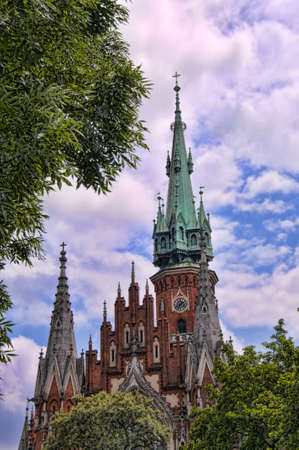St Josephs Church in Krakow Poland