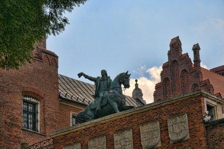 portcullis: Gateway del castello di Wawel a Cracovia, Polonia