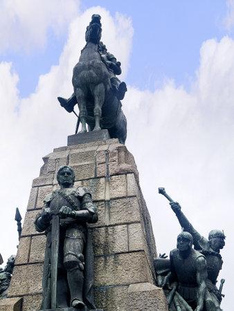 Statue in Krakow Poland