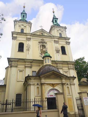 Church in Krakow Poland