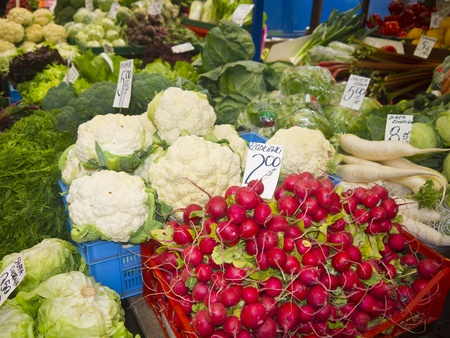 brenda kean: Food Market in Krakow Poland