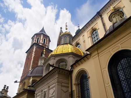 The Cathedral in Wawel Castle in Krakow Poland