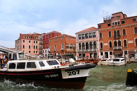 clock of the moors: Cruising down the Grand Canal in Venice  Every corner in Venice discloses a different face of the city  La Serenissima is beautiful at all times of the day