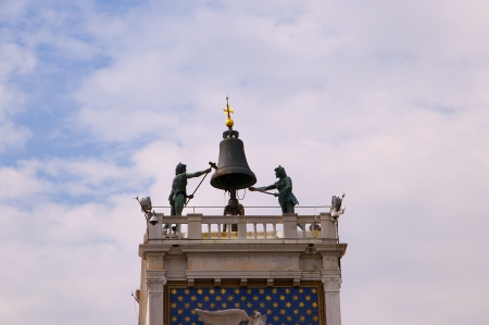 Clock of the Moors in Venice Italy