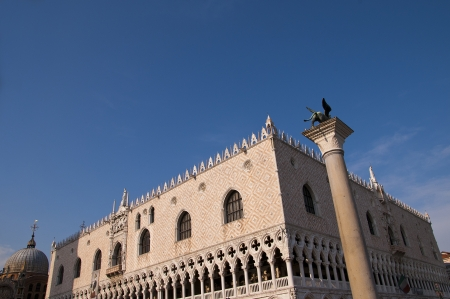 The Beautiful Doge s Palace in Venice Italy