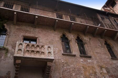 juliet s: Verona is a city in Northern Italy which features in Shakespeare s tragedy Romeo and Juliet  This is supposed to be the balcony where Romeo wooed Juliet  Editorial