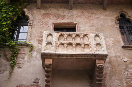 supposed: Verona is a city in Northern Italy which features in Shakespeare s tragedy Romeo and Juliet  This is supposed to be the balcony where Romeo wooed Juliet  Editorial
