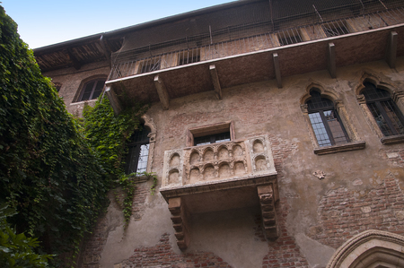 romeo and juliet: Verona is a city in Northern Italy which features in Shakespeare s tragedy Romeo and Juliet  This is supposed to be the balcony where Romeo wooed Juliet  Editorial