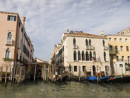 Cruising down the Grand Canal in Venice  Every corner in Venice discloses a different face of the city  La Serenissima is beautiful at all times of the day