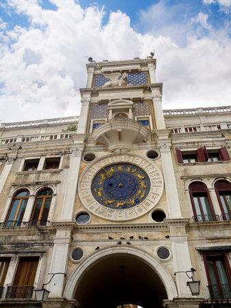 brenda kean: Clock of the Moors in Venice Italy Editorial