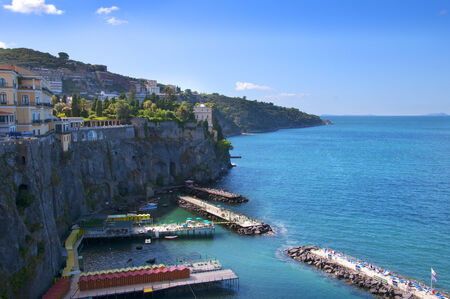Bathing Platforms in Sorrento Italy