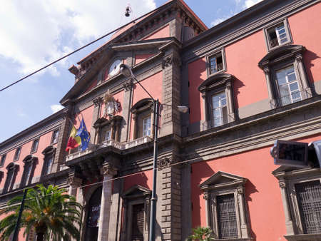 archaeological: Archaeological Museum in Naples Italy Editorial