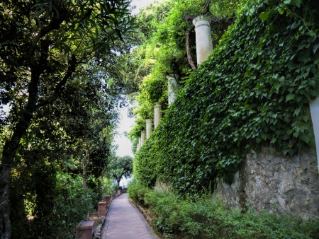 san michele: Villa San Michele on the island of Capri, Campania Southern Italy The beautiful house and garden of the Villa San Michele  Axel Munthe was the creator of San Michele   Already as a young physician, he decided to put into reality his dreams  Editorial