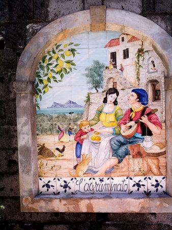 marqueteria: Placa de cerámica en Sorrento s Lemon Grove