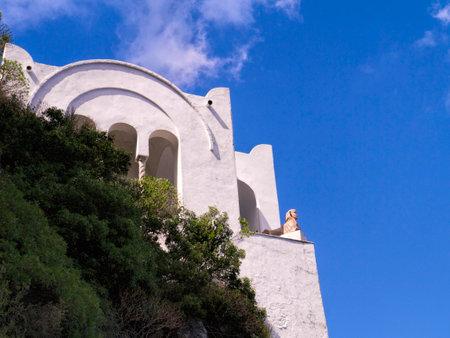 san michele: Villa San Michele on the island of Capri, Campania Southern Italy