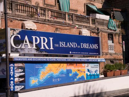 marqueteria: Sorrento en el puerto de Marina Piccolo Italia