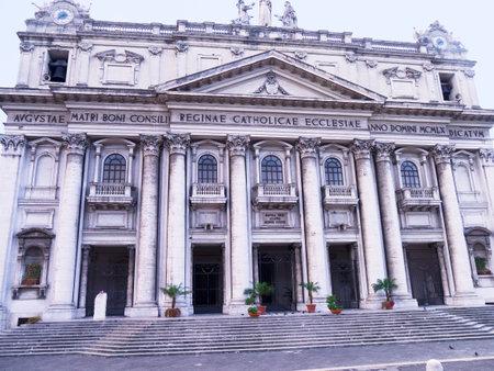 buon:  Basilica dell incoronata Maria del Buon Consiglio in Naples Italy Editorial