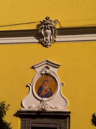 marqueteria: Iglesia en Sorrento Italia Editorial