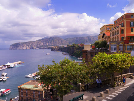 sorrento: Marina Piccolo the Harbour of Sorrento Italy