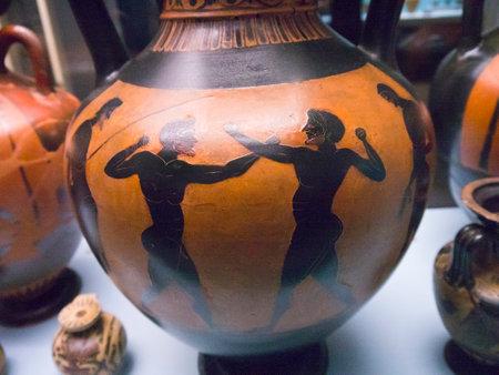 vasi greci: Vasi greci mostra a Museo Editoriali