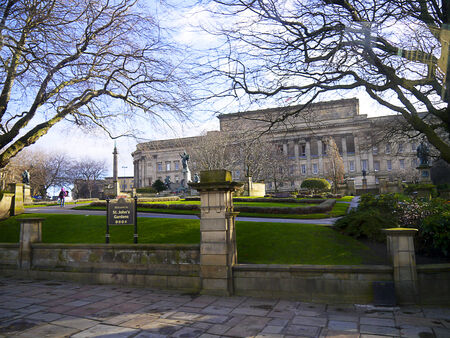 civic: Civic Buildings in Liverpool England Editorial