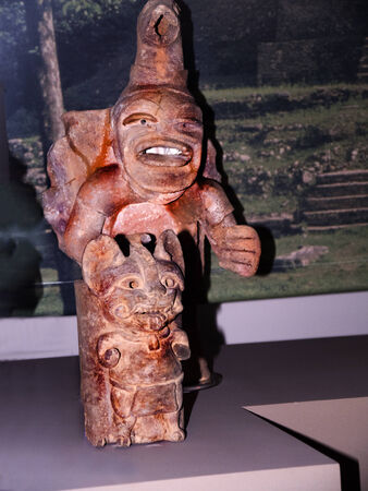 North American Native Artifact in English Museum