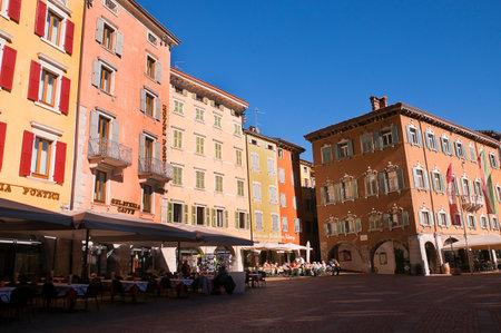 garda: Riva del Garda on Lake Garda Italy Editorial