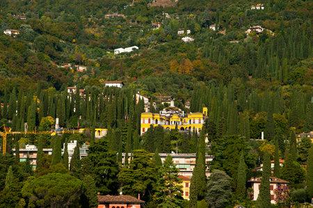 il: Il Vittoriale at Gardeone Riviera on Lake Garda Italy, home of Italys most popular poet Gabriele dAnnunzio