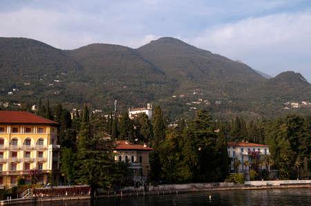maderno: Maderno on Lake Garda Italy Stock Photo