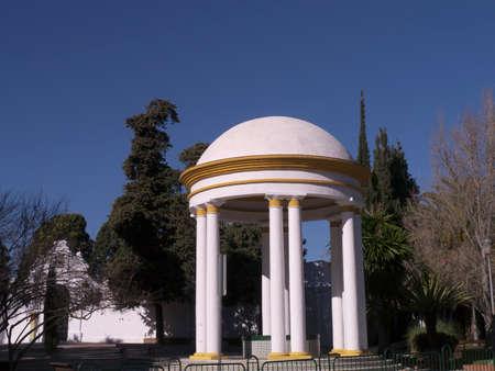 nerja: Memorial in Nerja Andalucia Spain Editorial