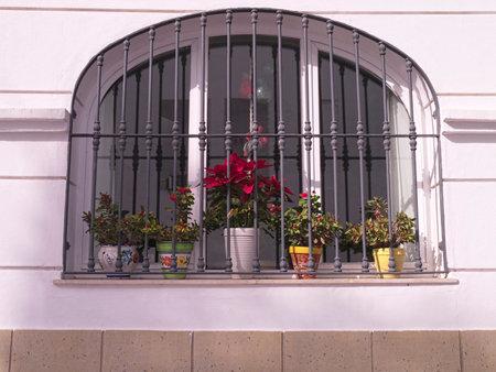 nerja: Window in Nerja Andalucia Spain