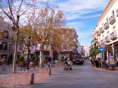 nerja: Main Street en Nerja Espa�a