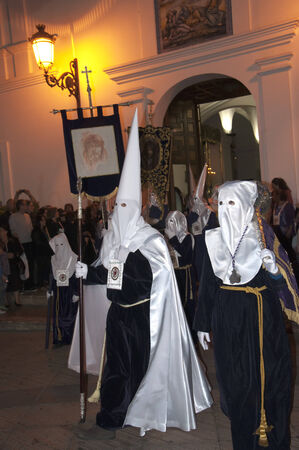 nerja: Easter Processions in Nerja Andalucia Spain Editorial