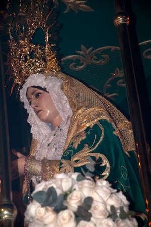 processions: Easter Processions in Nerja Andalucia Spain Editorial