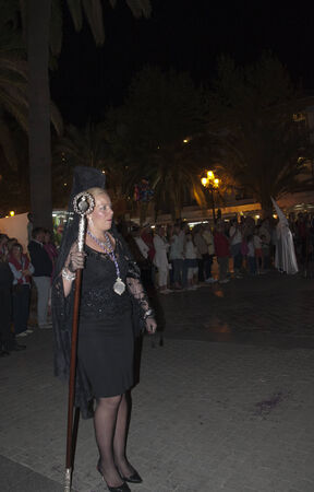 processions: Maundy Thursday Easter Processions in Nerja Andalucia Spain