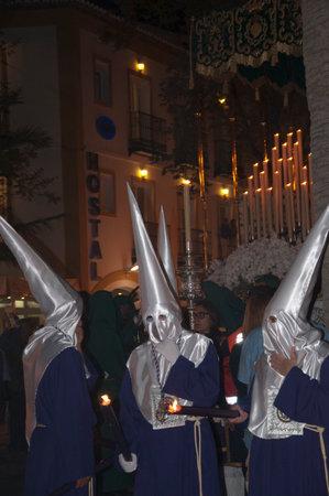 nerja: Jueves Santo procesiones de Pascua en Nerja Espa�a